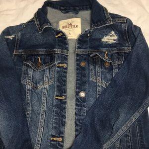 Hollister Ripped Denim Jacket